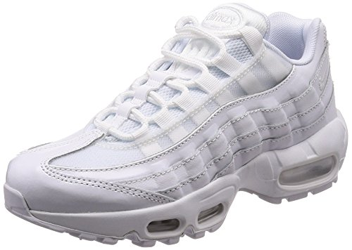 Nike Damen Wmns Air Max 95 Gymnastikschuhe, Elfenbein (White/White/White 108), 38 EU (Air Wmns)