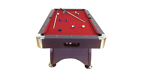 7 Devil GRAFICA Red SRL ft RO de Billard Table Modele MA 9EHIWYD2