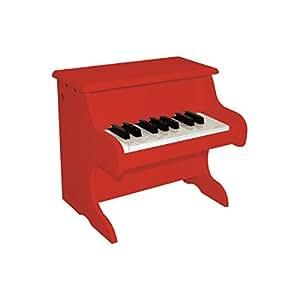 Delson 1822R Piano pour bébé Rouge