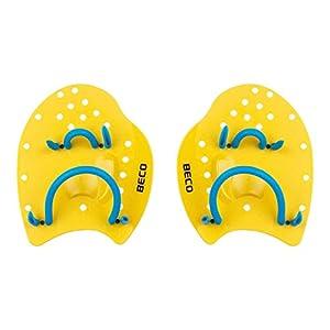 BECO Power Handpaddles Aqua Fitness Wasser Sport Schwimmen Training S gelb