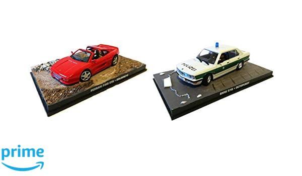 BMW 518 Octopussy 1//43 DY10+DY66 OPO 10 Lot de 2 Voitures Ferrari 355 Goldeneye