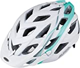 ALPINA Damen D-Alto L.E. Fahrradhelm, White-smaragd, 52-57 cm