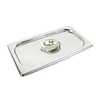 Airbrush-City GN 1/3 Deckel Gastronormbehälter Abdeckung GN-Behälter Gastronorm Edelstahl