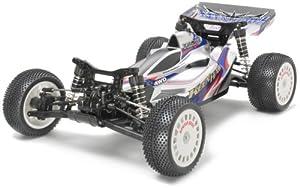 Tamiya 300058380-Kenn Hawk 4WD Buggy df03, Vehículo teledirigido Todoterreno, 1: 10, Motor eléctrico, para Montar