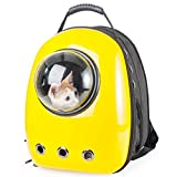 Small Dog Cat Carrier Pet Backpack Window Breathable Space Capsule Astronaut Bubble Travel Bag Transport Carrying Item Type:Soft-Sided CarriersSeason:All SeasonsMaterial:PlasticFitable Weight:6.5kg(cats);5kg(dogs)Style:FashionType:DogsApplicable Dog ...