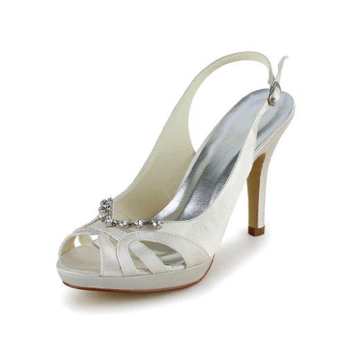 Jia Jia Wedding 37057 chaussures de mariée mariage Escarpins pour femme Sekt