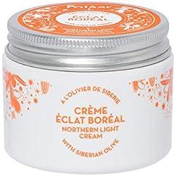 Polaar - Crème Lissante Eclat Boréal à l'Olivier de Sibérie 50ml - Crème de jour naturelle perfectrice visage