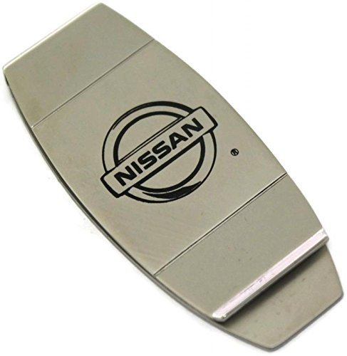 dantegts-nissan-slim-money-clip-silvertwo-tone-tension-loaded-rogue-altima-maxima