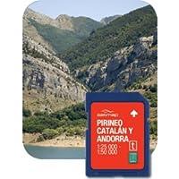 Satmap GPS System Karte katalonische Pyrenäen und Andorra, schwarz, ES-ALP-25-PREM-SD-002