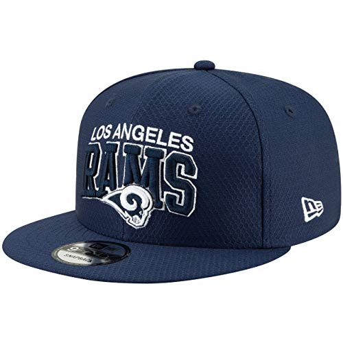New Era Los Angeles Rams 9fifty Snapback Cap NFL 2019 Sideline Home 1990 Navy - One-Size