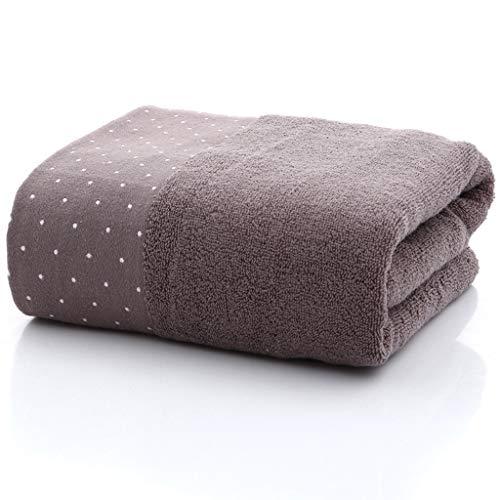Toalla de baño, algodón Lunares Color Liso Jacquard Archivo Roto Toalla de Toalla 4 Colores Puede Elegir,D