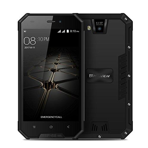 Blackview BV4000 Pro - 4,7 3G Smartphone, IP68 Resistente all'acqua e alla polvere, Android 7.0 Quad Core 2GB+16GB, 3680mAh, SONY Fotocamera 8MP+2MP, Dual SIM, Telefono Cellulari Sbloccato
