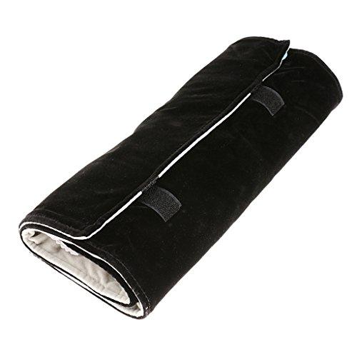 Bolsa-de-Viaje-Almacenamiento-Porttil-Rollo-para-Pulsera-Colgante-Color-Negro-Fuera