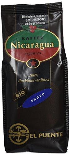 El Puente Bio Nica-suave, gemahlen, kbA, entsäuert, 4er Pack (4 x 250 g)
