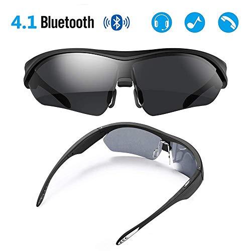 BJYG Herren Bluetooth Kopfhörer Freisprecheinrichtung Sonnenbrillen Polarisierte Brillen Sportbrillen Angelbrillen.