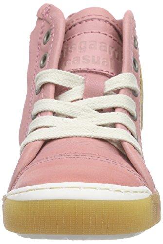 Bisgaard Shoe With Laces, Baskets hautes mixte enfant Rose - Pink (11 Bubblegum)