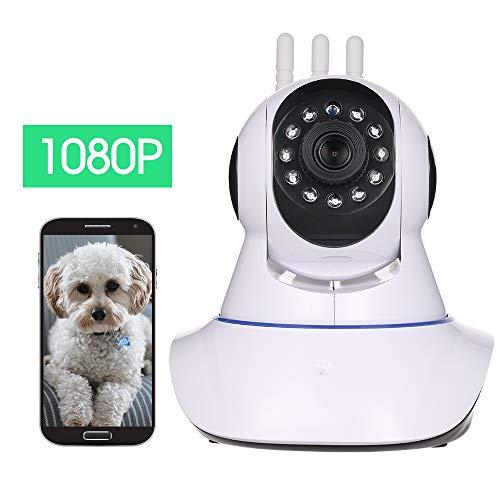 OWSOO IP Caméras WiFi,2MP 1080P Caméra de Sécurité Intérieure, Moniteur de Surveillance à Distance,Vision Nocturne,Audio Bidirectionnel,pour bébé/Animal de Compagnie/aîné