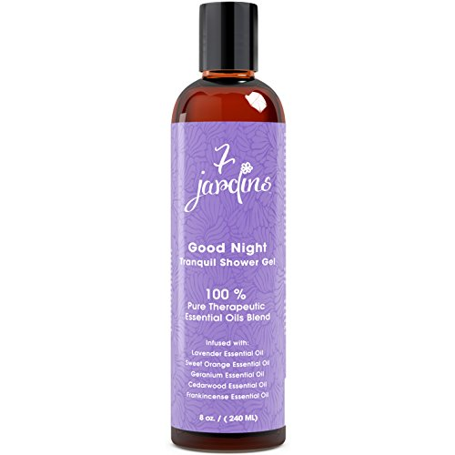 7-Jardins-Good-Night-Tranquil-Bath-And-Shower-Gel-Calming-Relaxing-Sleep-Aromatherapy-Enriched-With-Lavender-Sweet-Orange-Geranium-Cedarwood-Frankincense-Essential-Oils-Sulfate-Free