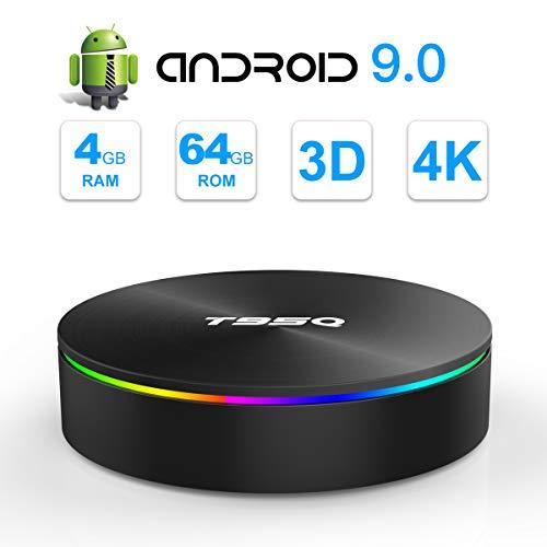 SIDIWEN T95Q Android 9.0 TV Box 4GB RAM 64GB ROM Amlogic