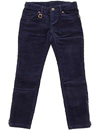 e19e9b3aa440 Ralph Lauren 1118S Pantalone Bimba Velluto Blu Trouser Pant Velvet Blue Girl