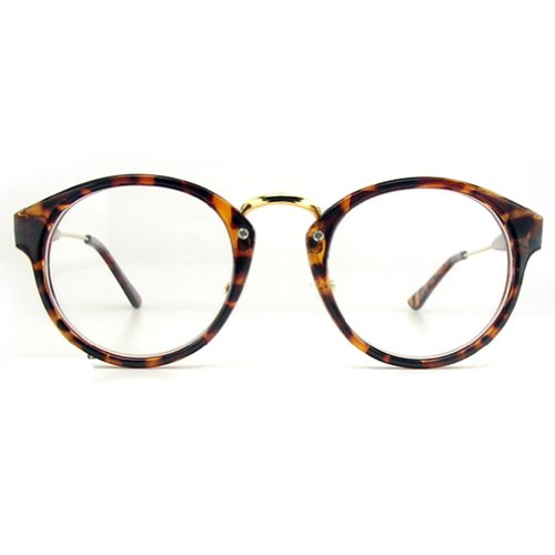 eab3e29ba6 Vintage Round Oliver Retro 080 Tiger Skin Occhiali da vista Frames ...