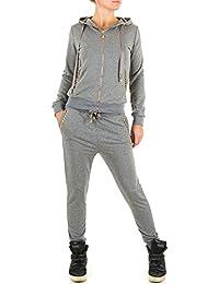 4912762054635c Overall Damen 2 Teiler Hose Sweatshirt Pullover Boyfriend Jogginganzug  Freizeitanzug Fitnessanzug Trainingsanzug…