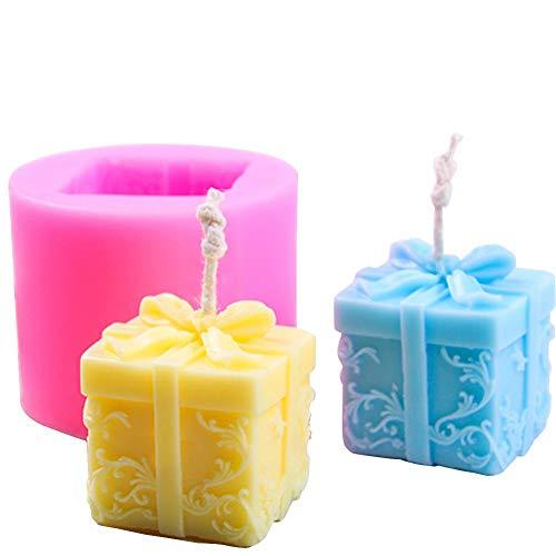 Fervory - stampo in silicone per candele, per aromaterapia, gesso, candele fai da te, sapone, stampo in silicone