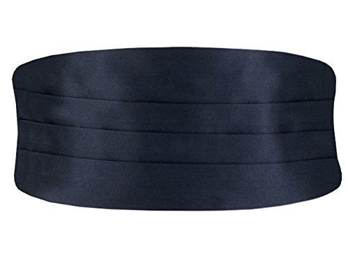 Dobell Herren Klassischer Kummerbund Verstellbar Marineblau Extra groß