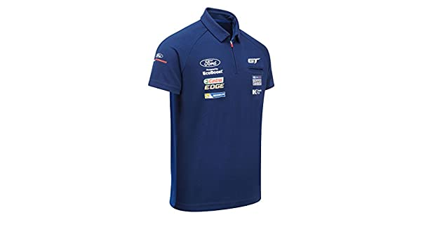 Ford Motorsport Polo pour Homme Col zippé - WEC Ford GT Ganassi Racing  Team  Amazon.fr  Sports et Loisirs 1fa0751f59cf