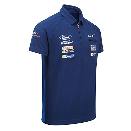 ford-motorsport-polo-pour-homme-col-zippe-conseil-ford-gt-ganassi-racing-team-bleu-roi