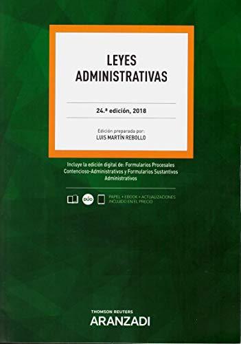 Leyes Administrativas (Código Profesional) por Luis Martín Rebollo