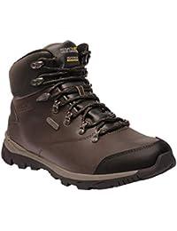 REGV7|#Regatta Kota Leather Mid Waterproof Hiking Boot, Botas de Senderismo para Hombre