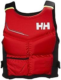 Helly Hansen Rider Stealth Chaleco, Hombre, (Rojo 222), 70/90