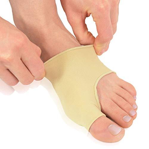 Dr. frederick's original fasce protettive per alluce valgo – 2 fasce per alleviare il dolore all'alluce valgo prima e dopo un intervento chirurgico – indossare con le scarpe - small - eu w35-38.5 / m36-38.5