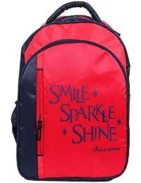 POLE STAR RAINCAP Smile Casual Travel Backpack I bagpack I School Bag with  RAIN Cover f025abe3b411c