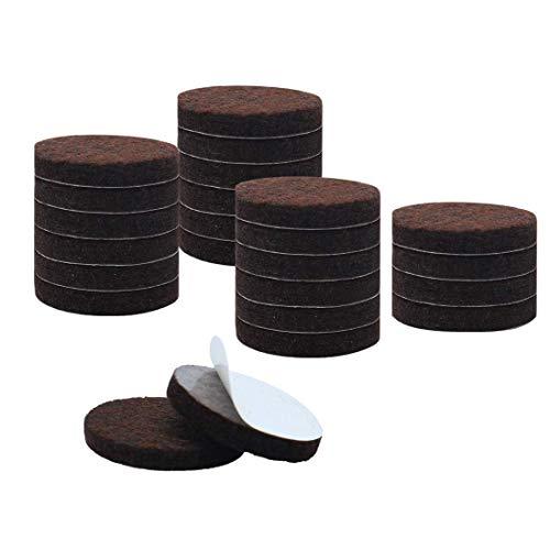 ZCHXD 24pcs Furniture Pads Round 1 3/4