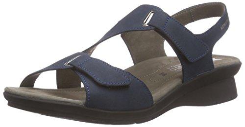 Mephisto Paris Bucksoft 6945 Navy, sandales ouvertes femme bleu (NAVY)