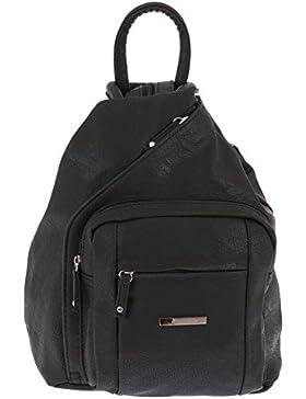 ALESSANDRO Femme Bag Handtasche Rucksack Damentasche + Schlüßelmäppchen