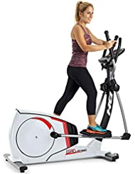 BH Cross Challenge Bicicleta elíptica. Fitness Apps. 14 Kg Sistema inercial. Blanca. G2381RF (Reacondicionado Certificado)