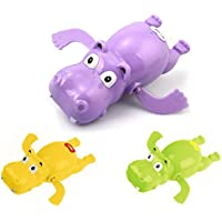 YOIL Bañera de hipopótamo de Dibujos Animados Lindo de los Niños Baño de Juguete ...