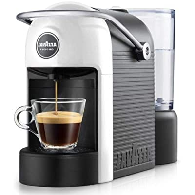 Lavazza Modo Mio Jolie White 18000007 Capsule Coffee Machine One Touch Operation