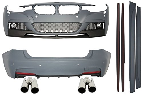 Preisvergleich Produktbild KITT cbbmf30mpdo Body Kit m-performance Look Doppelventil Diffusor + Schalldämpfer Tipps