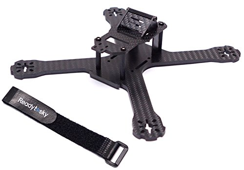 Readytosky X214 Carbon Fiber FPV Race Quadcopter Frame (4MM) like QAV-X210 QAV-X250 etc with battery strap