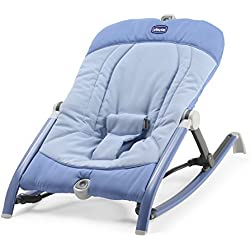 Chicco Pocket Relax - Hamaca ultracompacta y ligera, de 0 a 18 kg, color azul