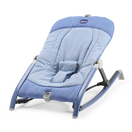 Chicco 05079825510000 Babywippe Pocket Relax, blau