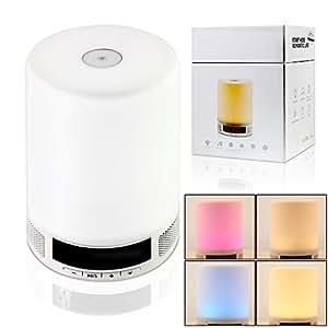 Bluetooth mini haut parleur lumi re de nuit portable for Veilleuse chambre a coucher