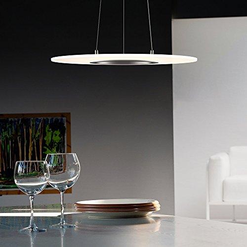 Kjlars 36w tondo led dimmerabili lampada a sospensione for Lampada ufficio design