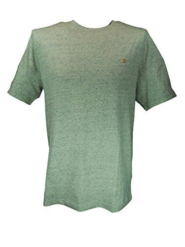 farah-vintage-denny-short-sleeved-crew-neck-t-shirt-ecru-large