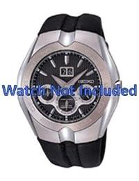 Correa de reloj de Seiko/7d46 0aa0 SNP011P1 (no incluidos en el precio del reloj. Correa de reloj original solamente)