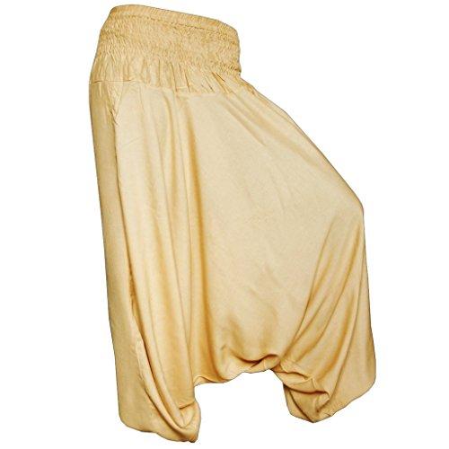 Aladin PANASIAM pantaloni, S a L (34–42), versione lunga, qui in 17colori, in 100% Naturale, Flash Spedizione in de, qualità prodotto nuovo